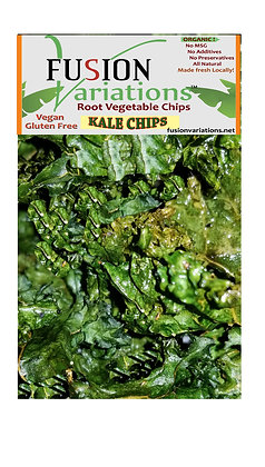 Oven roasted Kale Chips