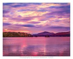 Sunset, Long Lake
