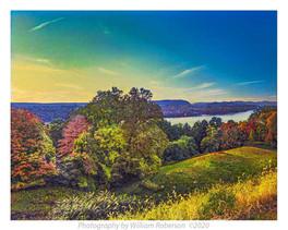 Hudson River, Catskills, Viewed from Vanderbilt