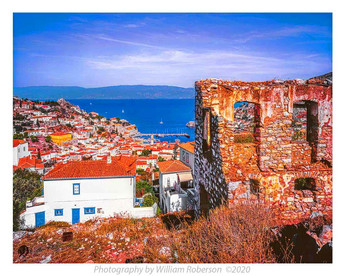 View from Hydra