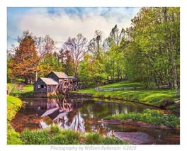 Mill, Blue Ridge
