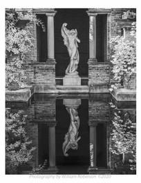 Statue, Vanderbilt Estate
