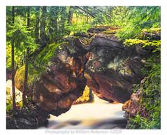 Natural Stone Bridge and Caves at Pottersville