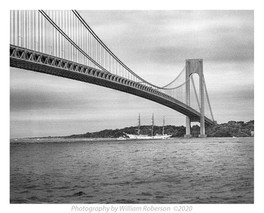 Verazanno Bridge, Tall Ships