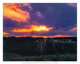 Sunset, Blue Ridge