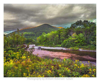 Storm Clearing, Ausable River, Keene