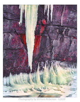 Icicles, Ausable River