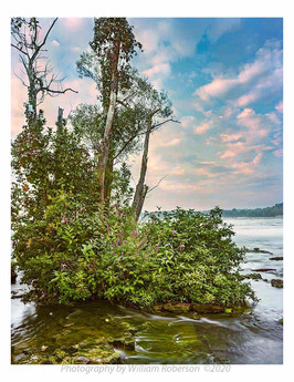 Niagara Rapids, Three Sisters Island