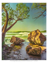 Niagara Rapids from Three Sisters Island