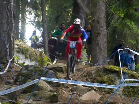 And the 2016 UCI Downhill Mountain Bike Overall Champion is ...