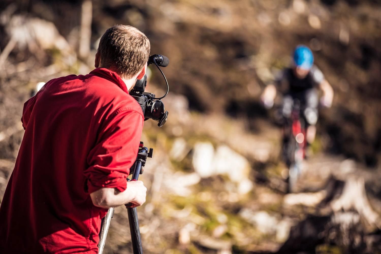 Morrocco Media filming MTB