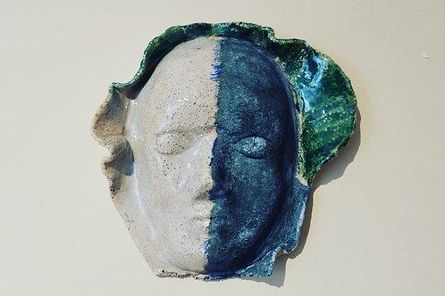 Gladyatör Maske (Mavi)