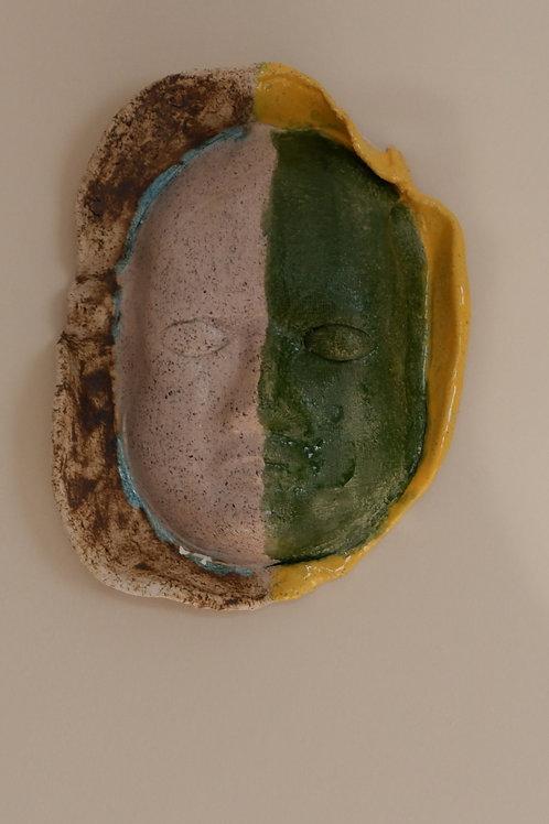 Gladyatör Maske (Yeşil)