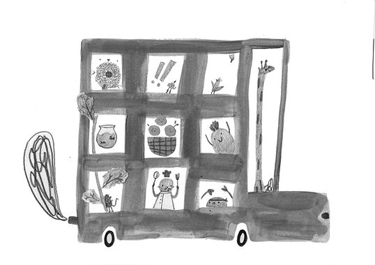 Animal School bus