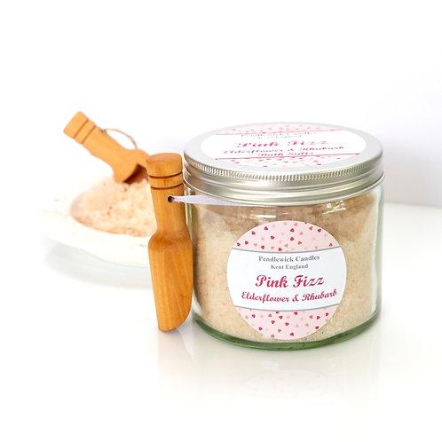 Pink Fizz Bath Salts Jar