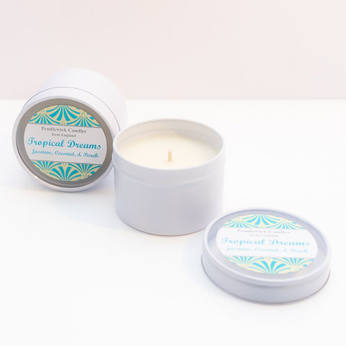 Tropical Dreams Mini Candle