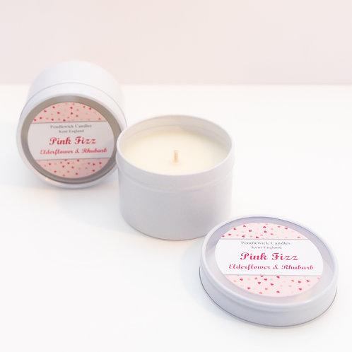 Pink Fizz Mini Candle