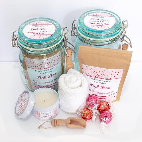 Pink Fizz Spa In A Jar