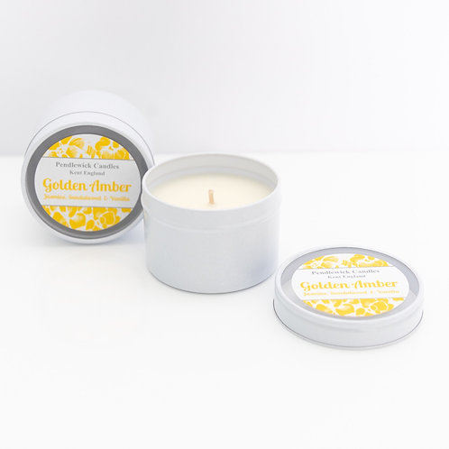 Golden Amber Mini Candle