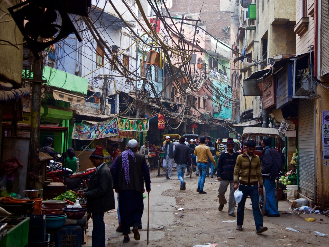 India - Old Delhi street
