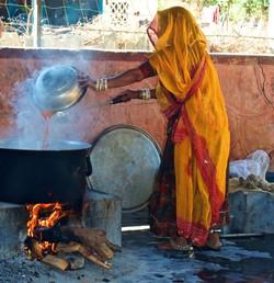 steaming pot, Rajasthan