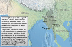 Yangon index map