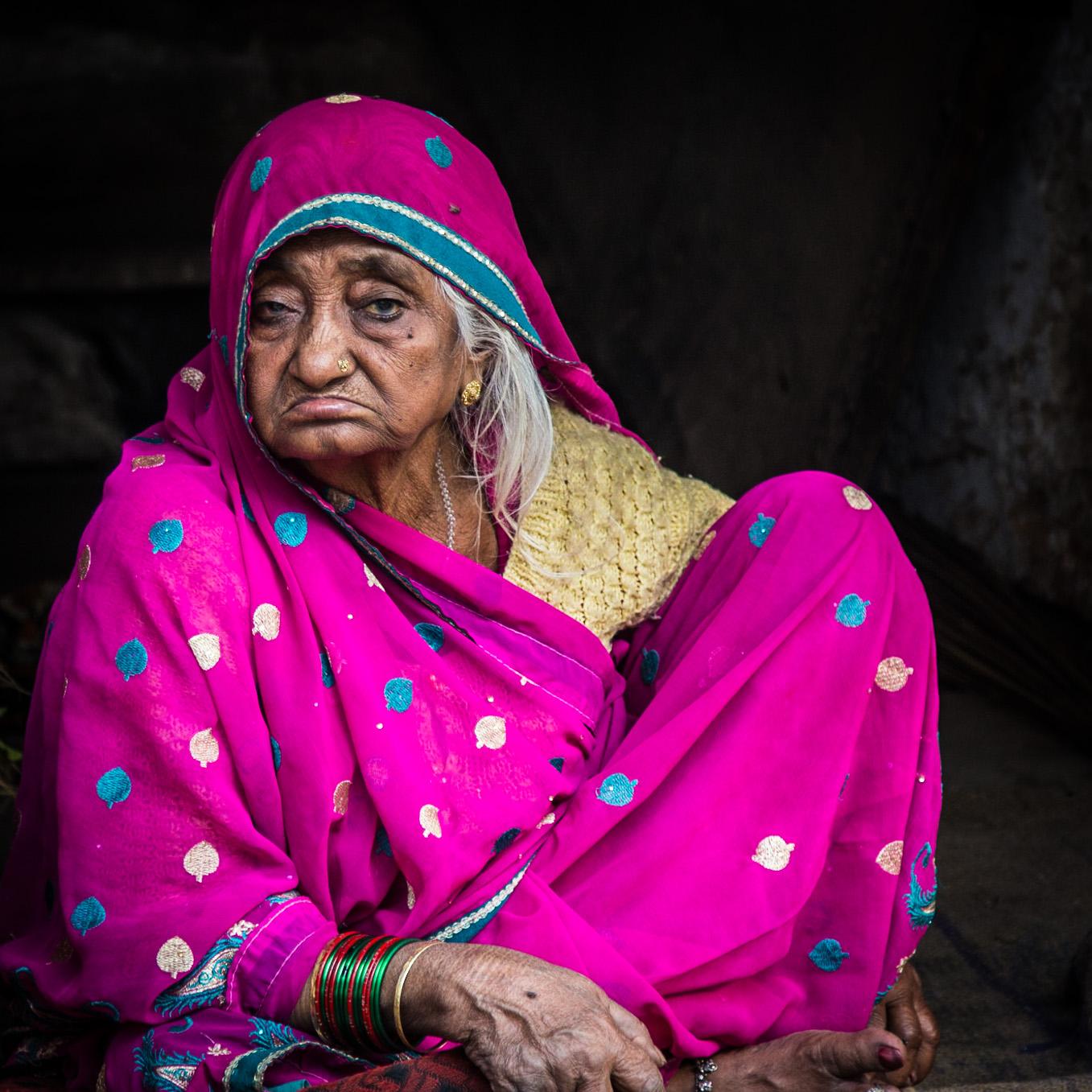 market woman, Varanasi India