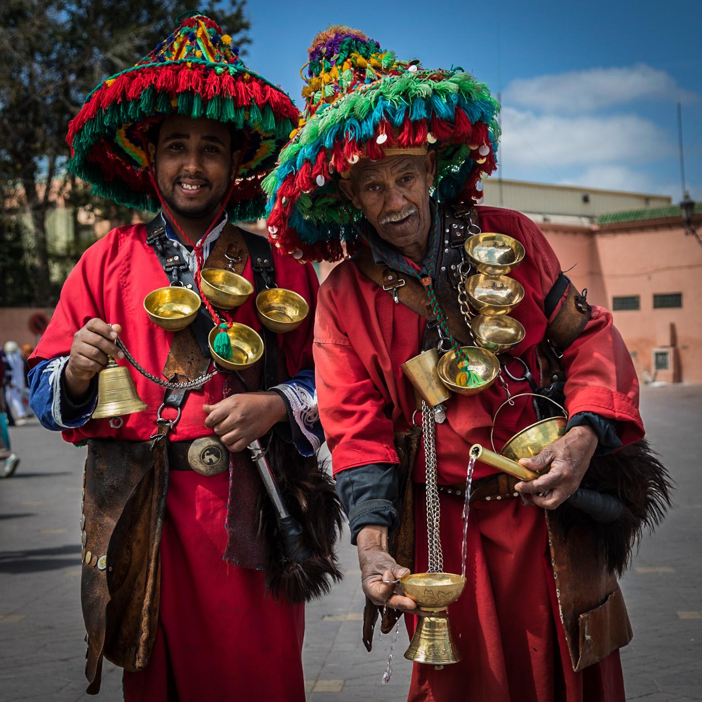 Marrakesh water-sellers