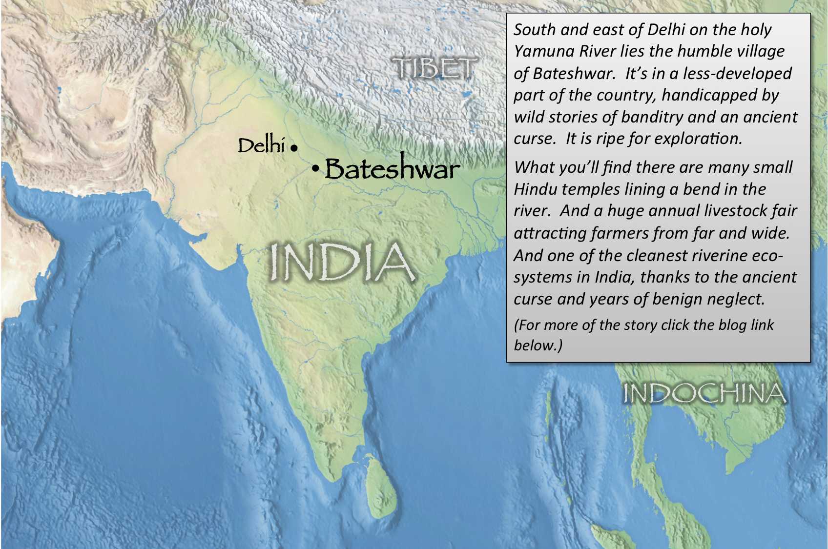 Bateshwar index map