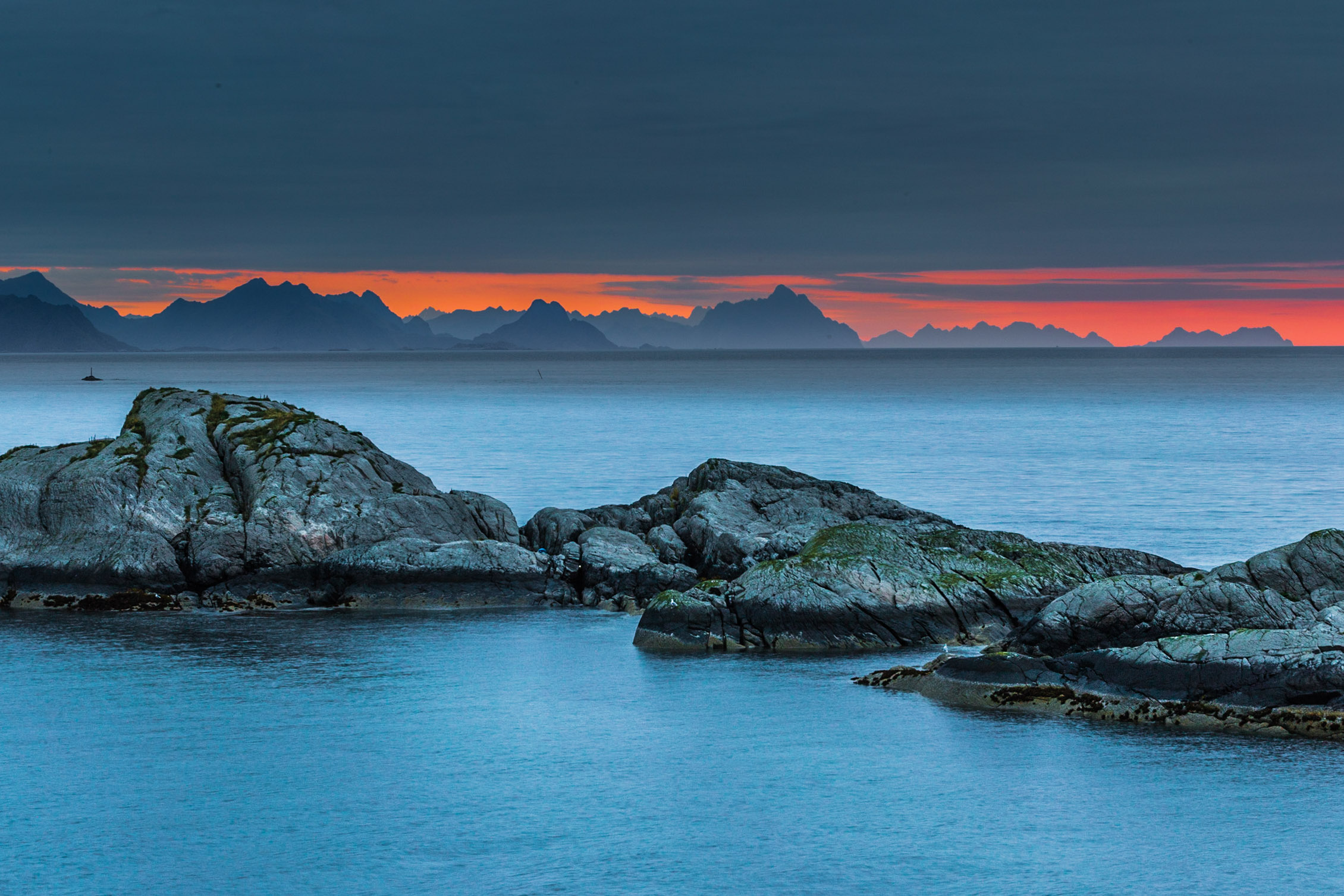 sunrise from Hamnøy