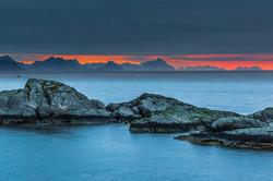 sunrise from Hamnøy