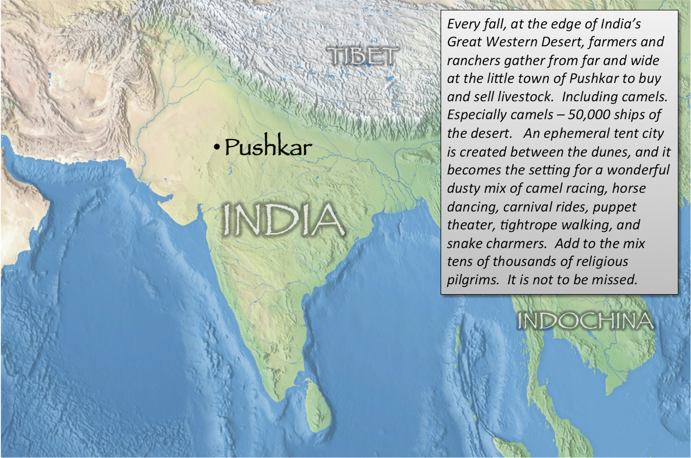 Pushkar index map