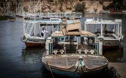 boats, Aswan cataracts