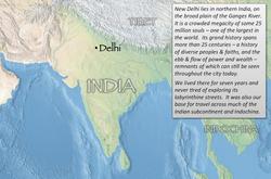 Delhi index map