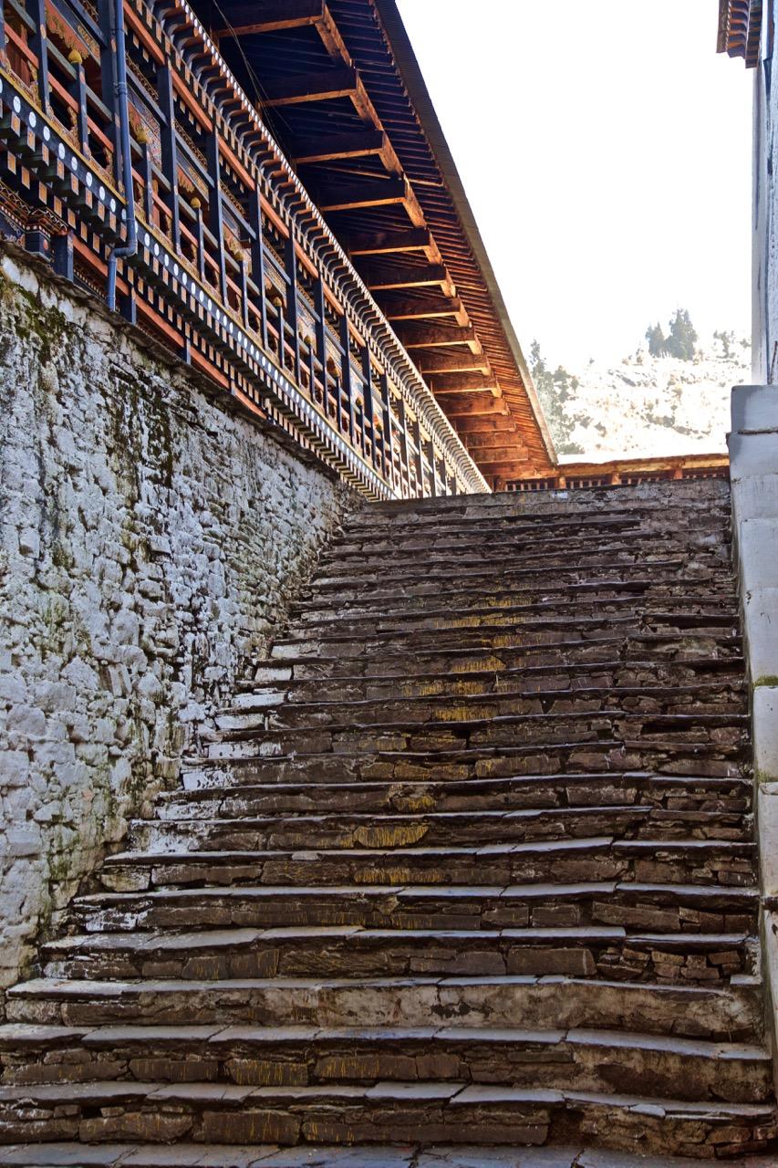 dzong stairway