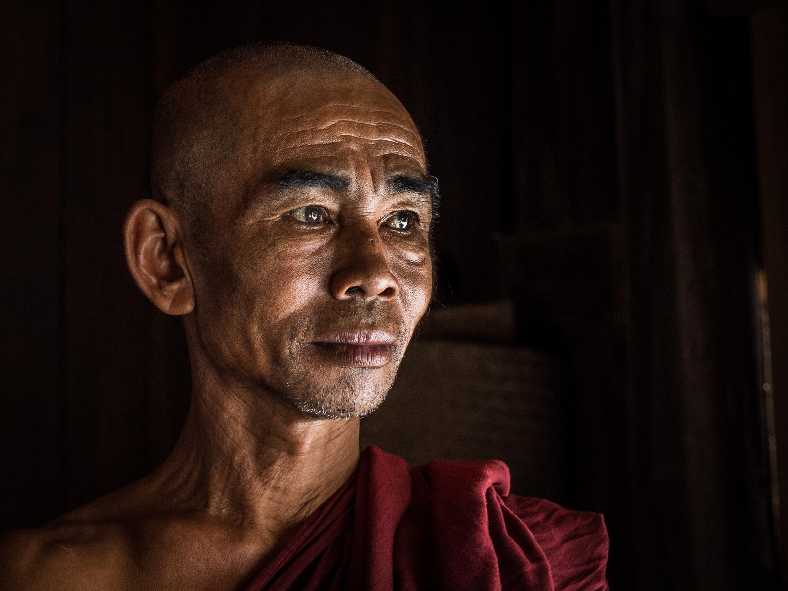 Nat Taung Kyaung monk