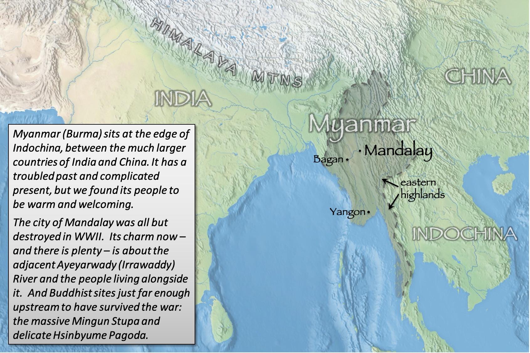 Mandalay index map