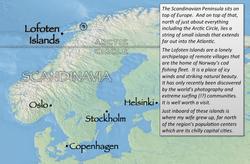 Lofoten index map