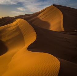 Sahara dunes, Merzouga