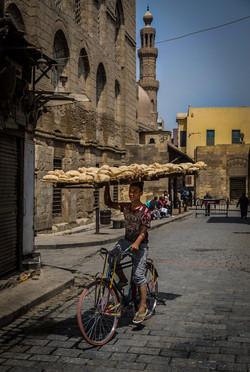 fresh bread delivery, Cairo