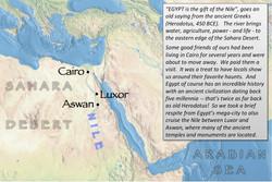 Egypt index map