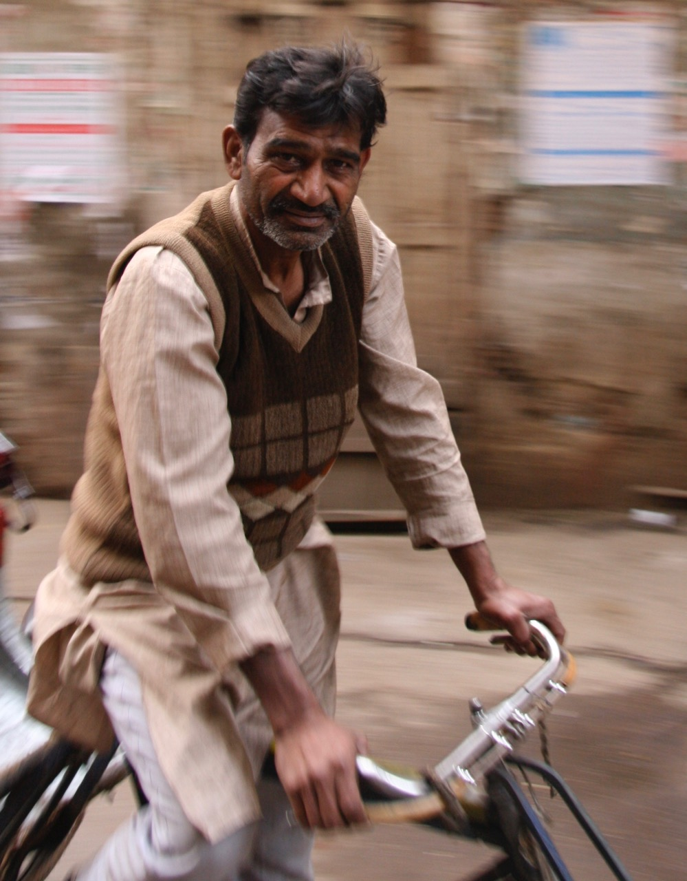 Delhi bike rider