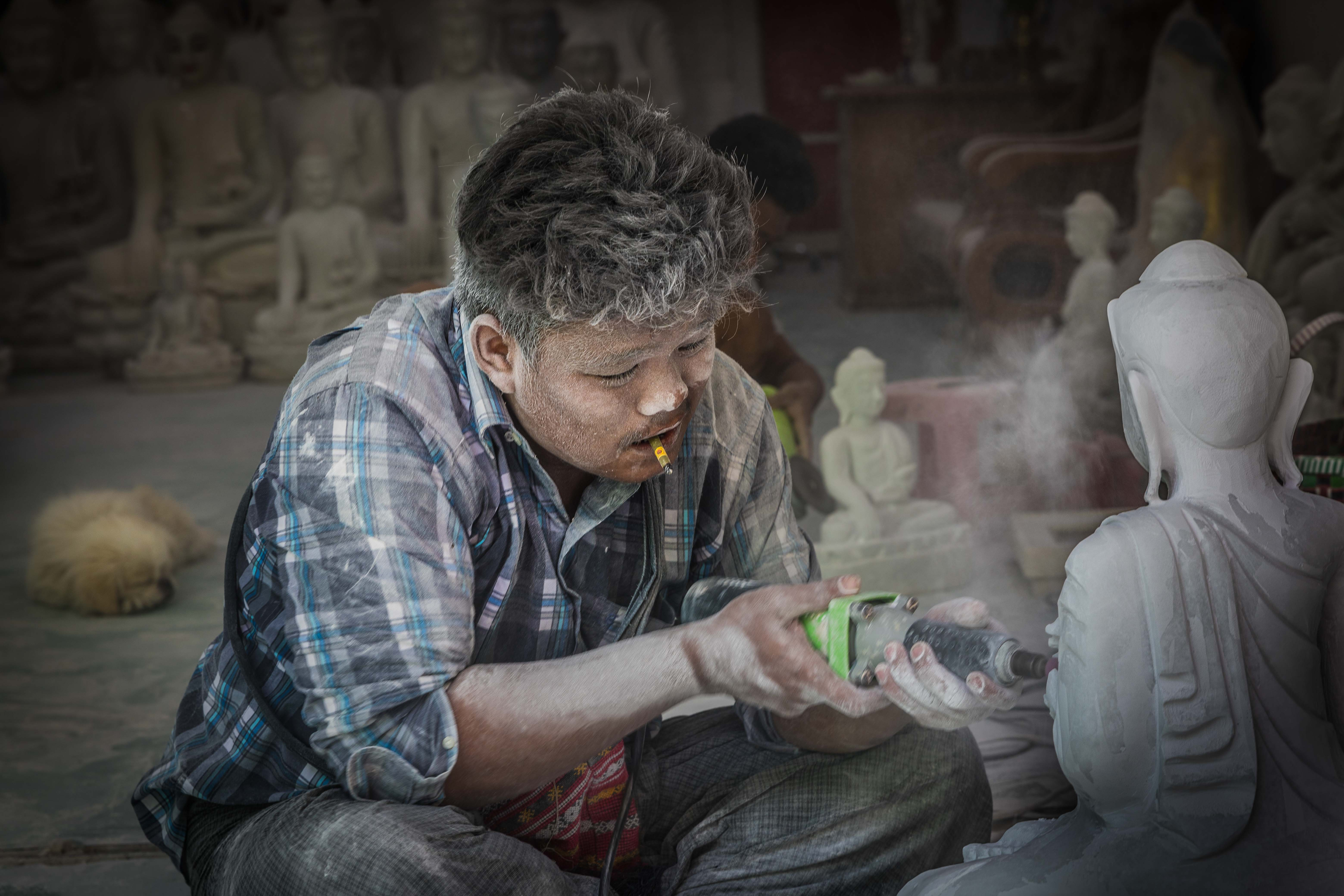 work in progress (Buddha)