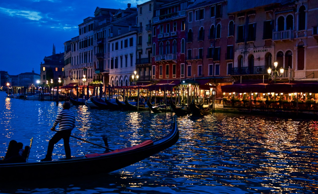 night lights, Venezia