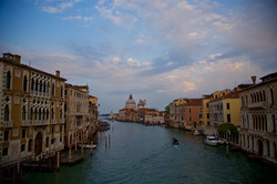 sunset from Accademia, Venezia