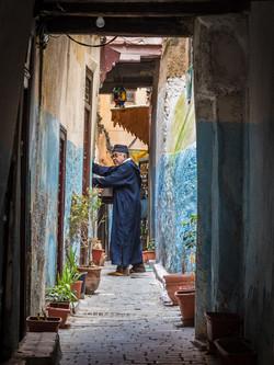 Fes blue alley