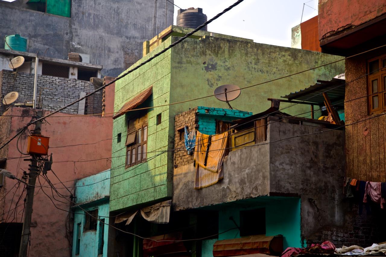 early morning light in Old Delhi