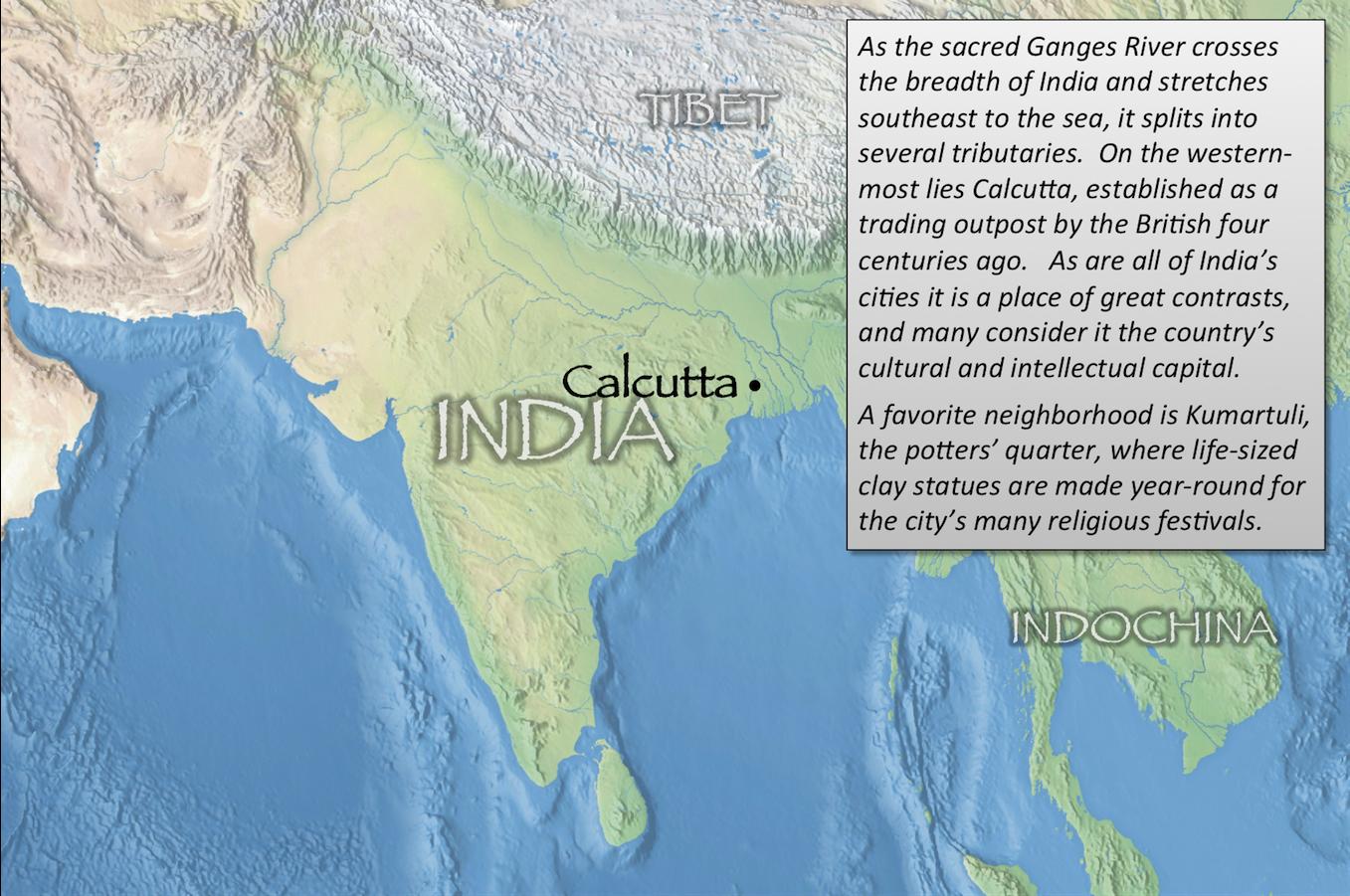 Calcutta index map