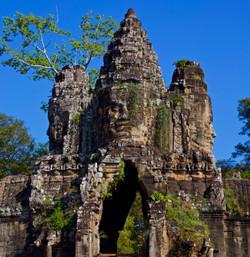 Indochina - Siem Reap temple gateway