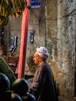 Khan el-Khalili grocer, Cairo
